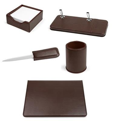 SET SCRIVANIA VIP MARRON 5 PZ.