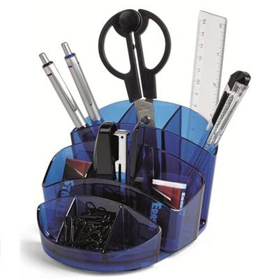DESK SET ABS BLU C/ACCESSORI