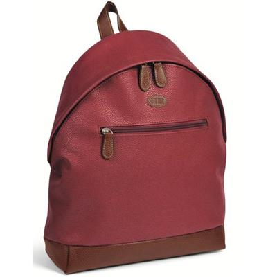 ZAINO IN SIMILPELLE BORDEAUX